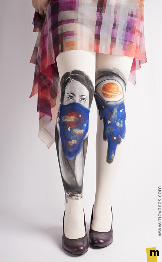 Galaxy Girl Tights