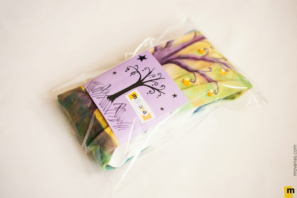 Hand-painted Tights Packaging