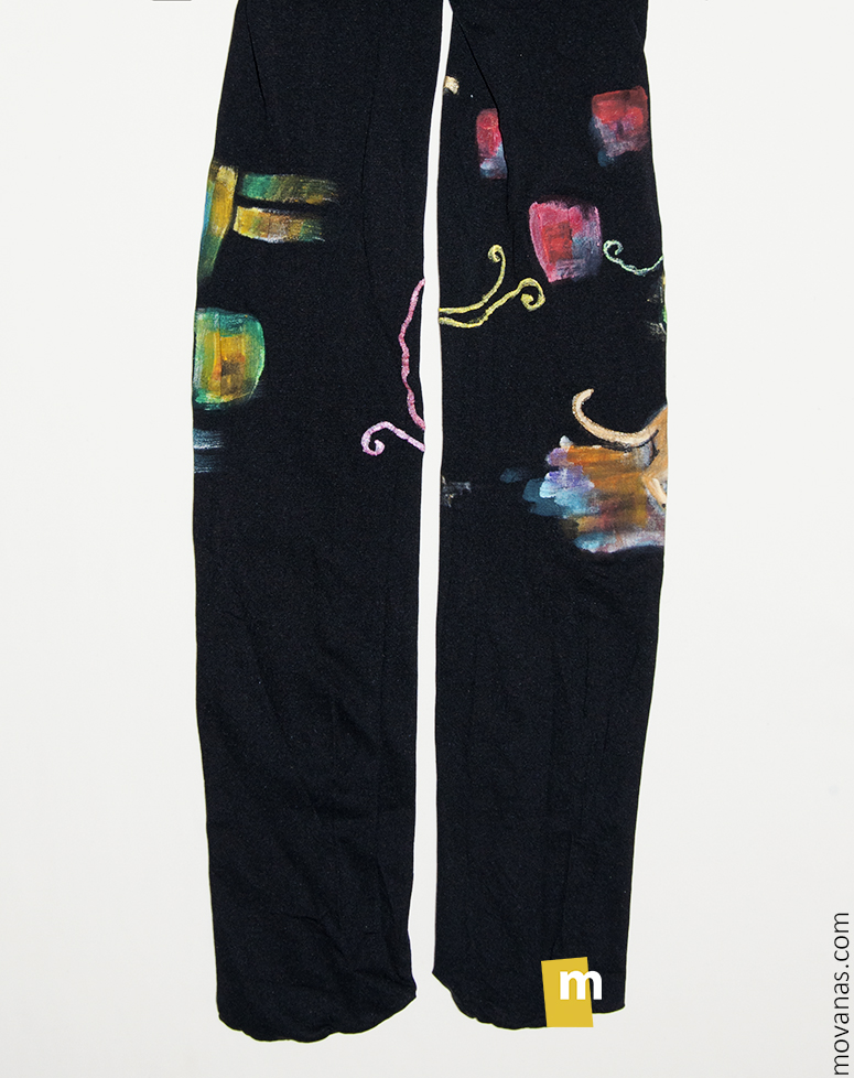 Handpainted Tights for Kids (back side)