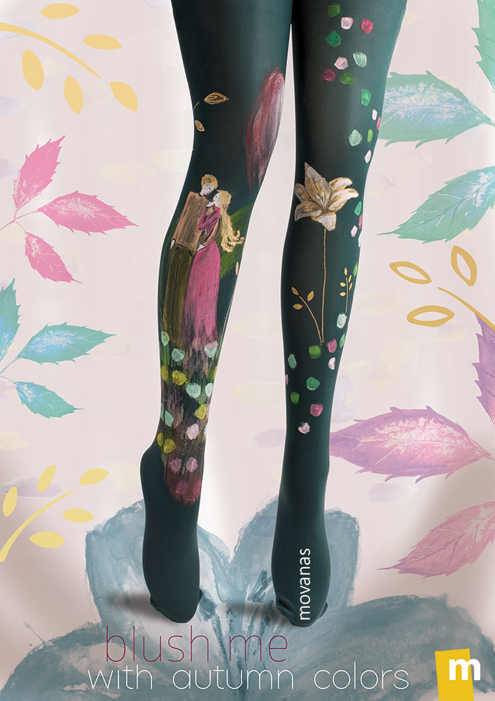 Autumn Collection | Handpainted Tights