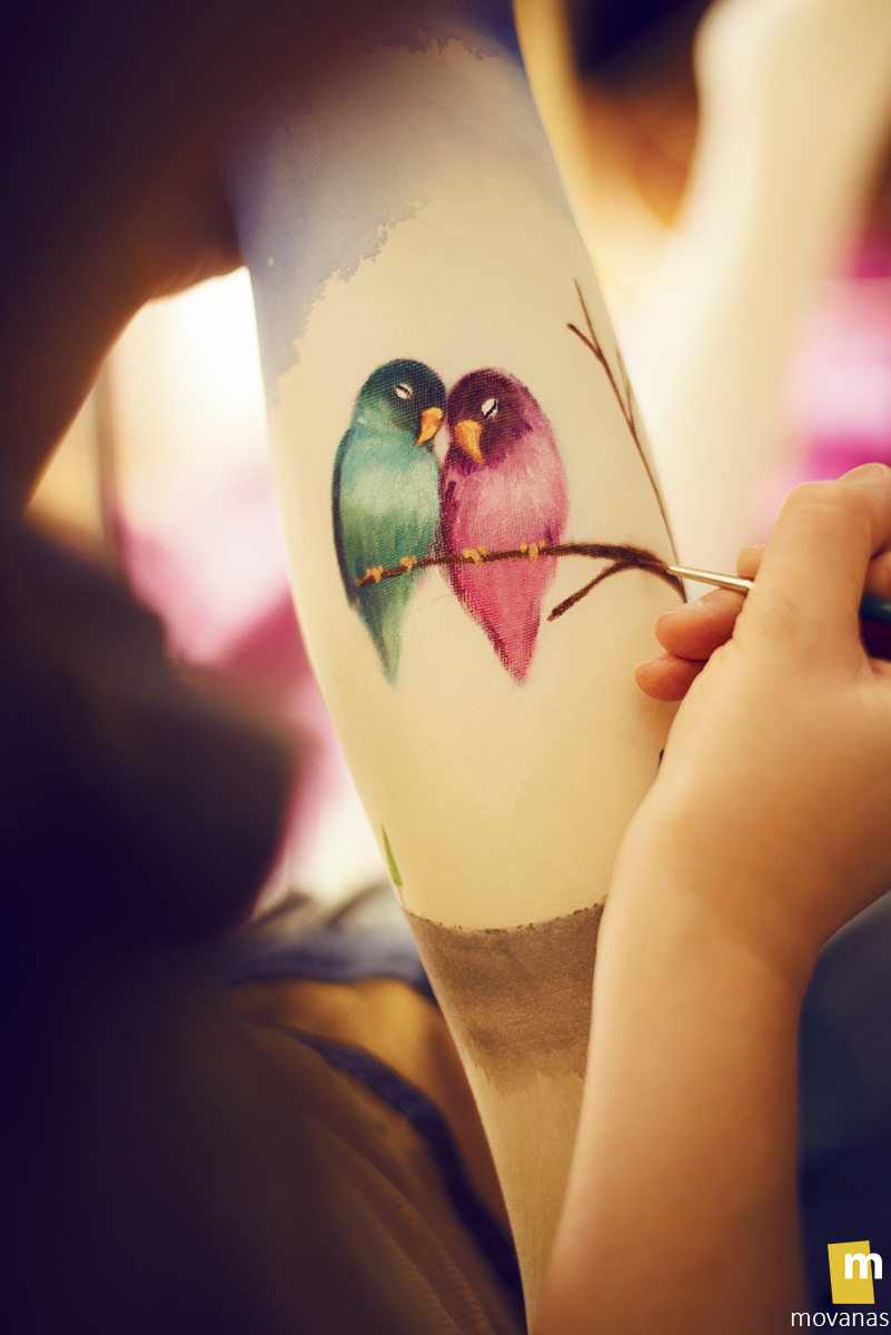 Love Birds - Work in progress