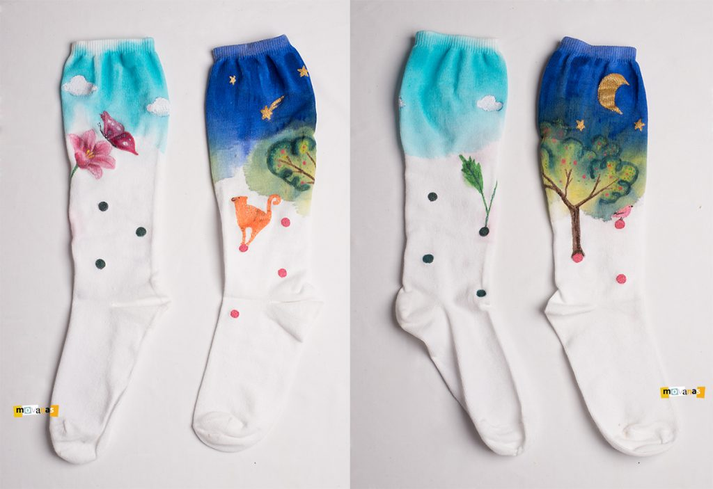 Handpainted Socks