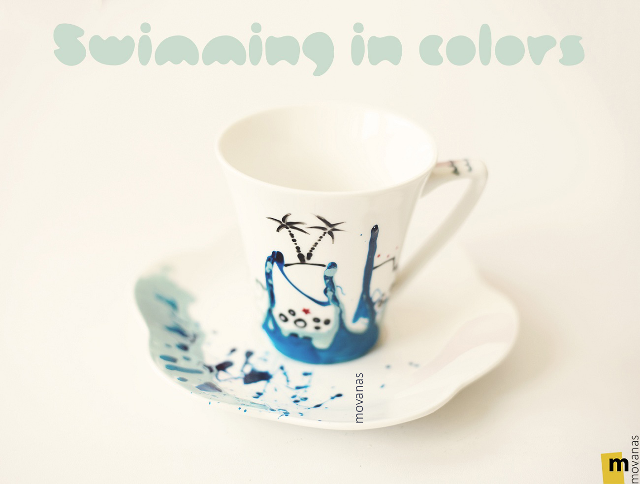 Swimming in Colors Cup