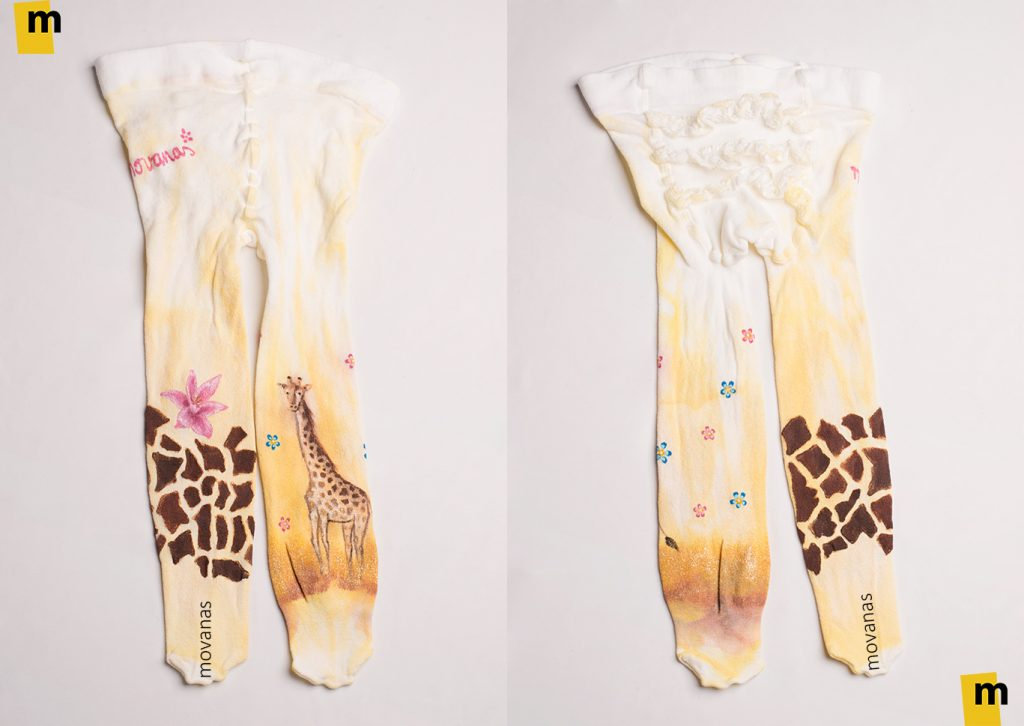 Hand-painted Tights for Kids